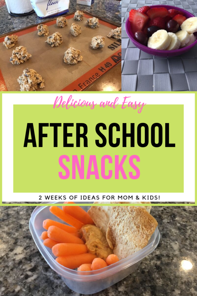 Two weeks of after school snacks you and your kids will love!