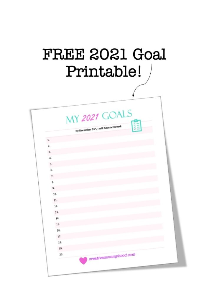 Picture of Goal Printable