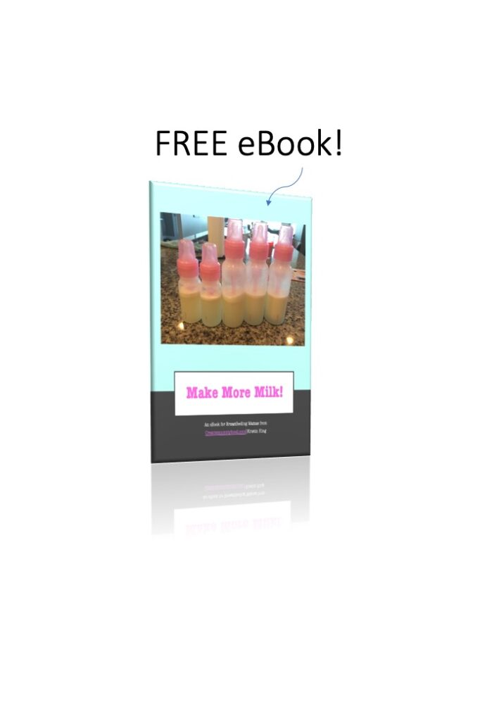 picture of ebook cover with pink baby bottles